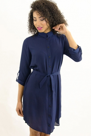 Stylish Smart Shirt Dress