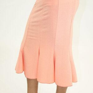 Stylish Ruffled Hem Midi Skirt