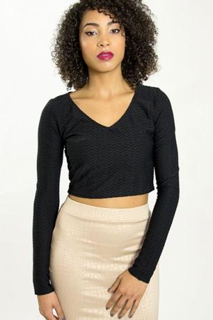 Stylish Cropped Top