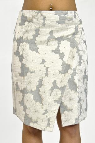 Stylish Crossover Detail Skirt