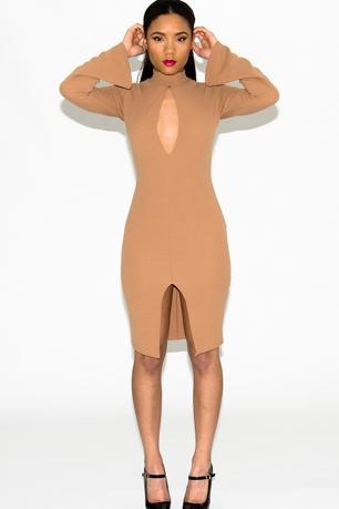 Stylish Long sleeve Bodycon Dress