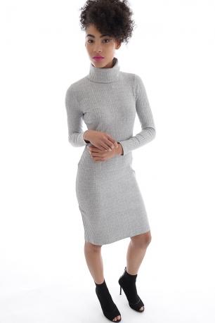 Stylish Bodycon Polo Dress