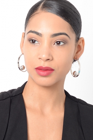 Stylish Hoop Earring