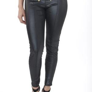 Stylish Leather Look Leggings
