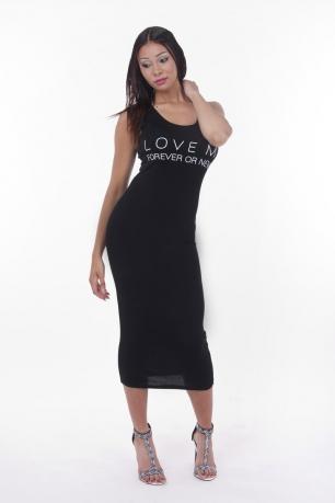 Stylish H&S Basic Maxi Dress