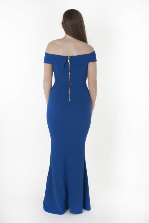 0f41cc865d1a Stylish Off The Shoulder Bodycon Maxi Dress