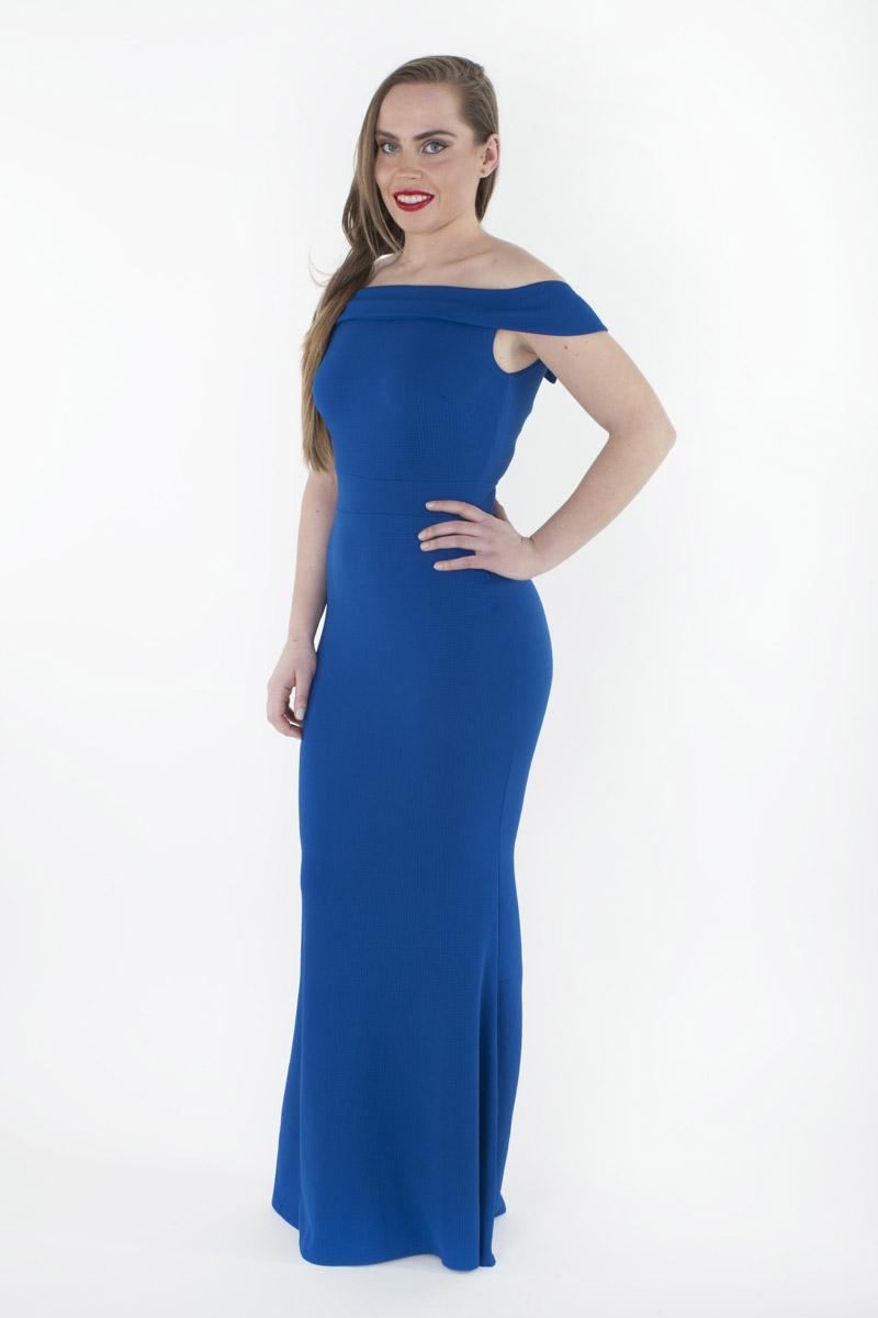 Stylish Off The Shoulder Bodycon Maxi Dress Stylish Dresses