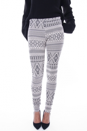 Stylish Aztec Print Leggings