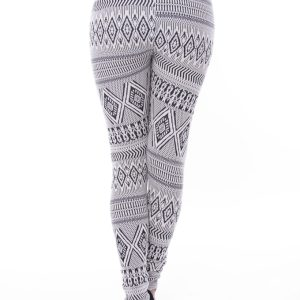 Stylish Aztec Print Leggings