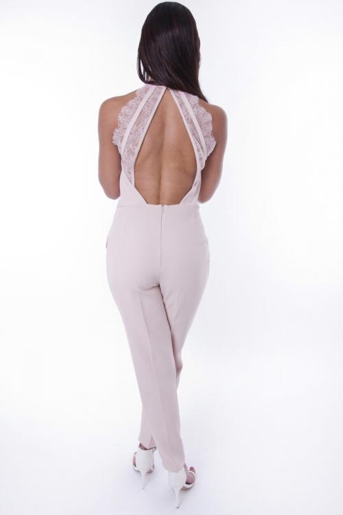 Stylish Open Back Jumpsuit