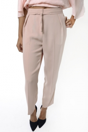 Stylish Peach Peg Trousers