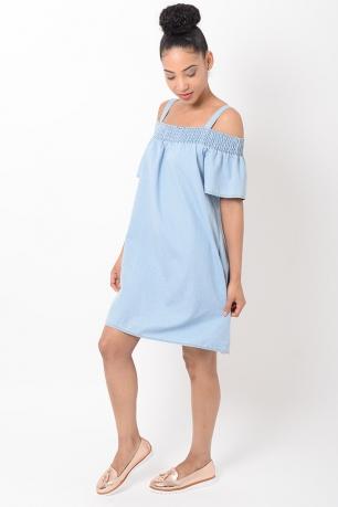 Stylish Bardot Shift Dress