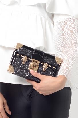 Stylish Black Clutch Bag