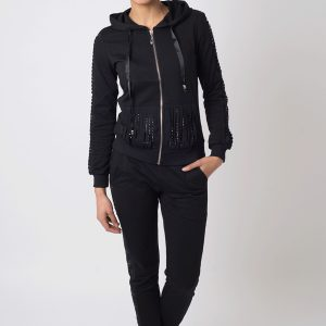 Stylish Black Tracksuit