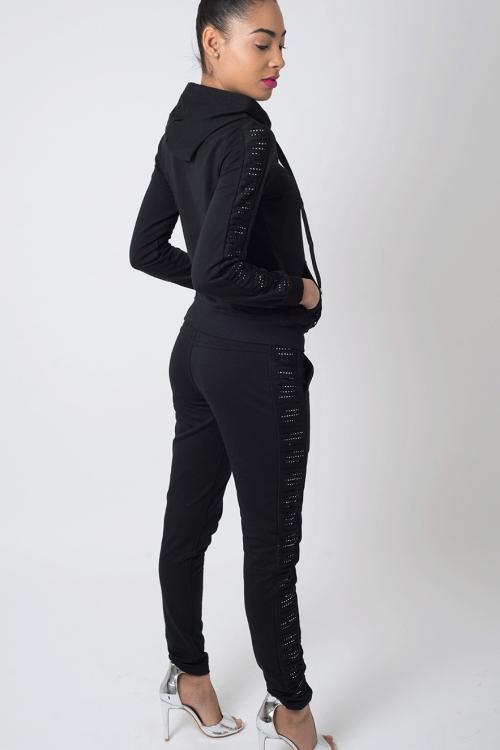Stylish Black Tracksuit
