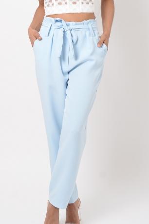 Stylish Blue Peg Trousers