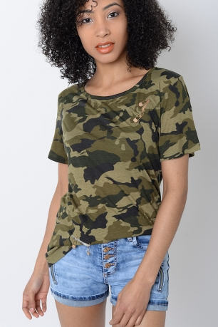 Stylish Camo T-shirt