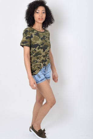 Stylish Camo T shirt