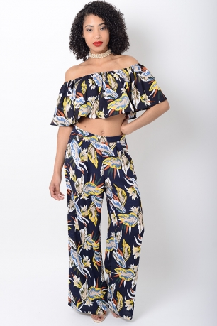 Stylish Floral Print Co Ords