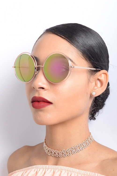 Stylish Mirrored Sunglasses