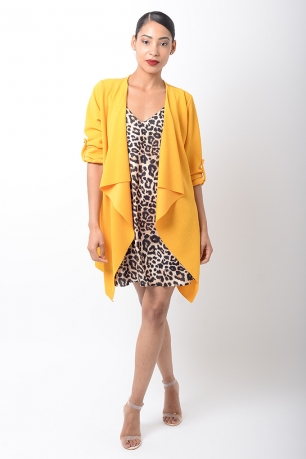 Stylish Mustard Spring Jacket