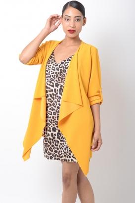 Stylish Mustard Spring Jacket