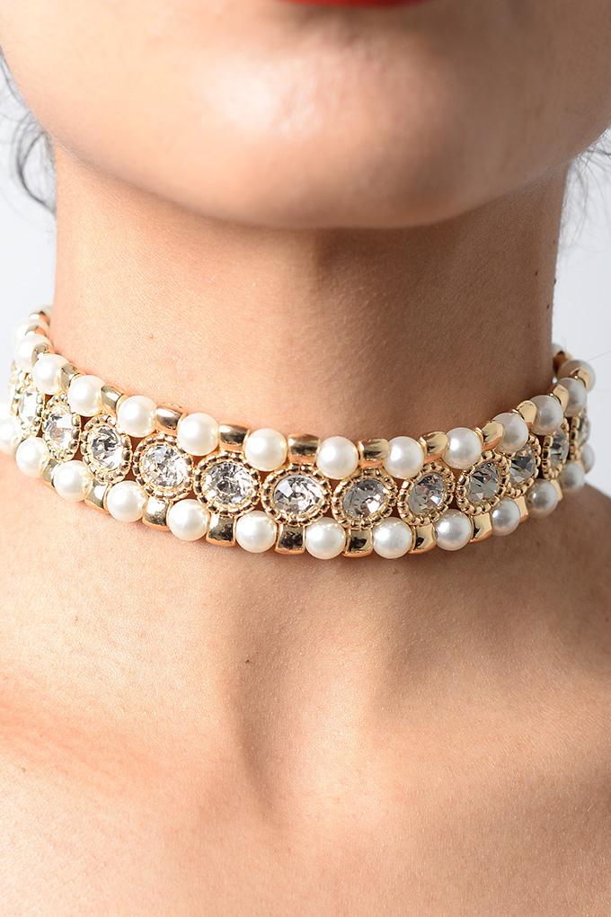 Black Sparkly Choker Necklace