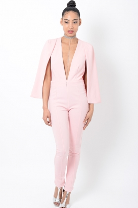 Stylish Pink Jumpsuit