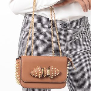 Stylish Tan Clutch Bag