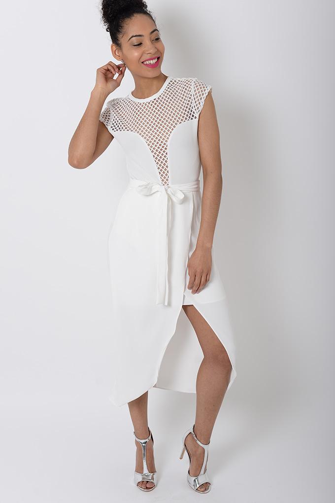 Stylish White Wrap Skirt Stylish Skirts Wrap Skirts