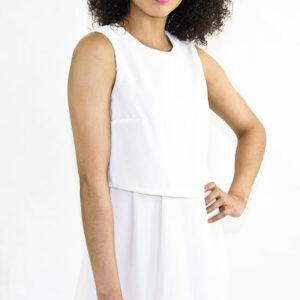 Stylish Double Layered Dress