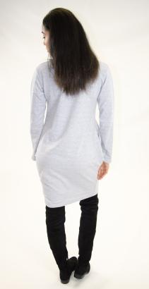Stylish Long Sleeve Cupcake Dress