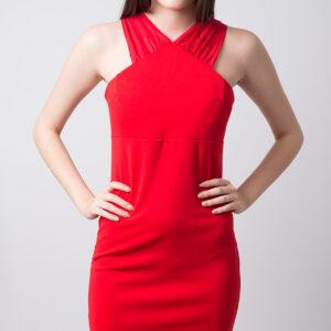 Stylish Draped Bodycon Dress
