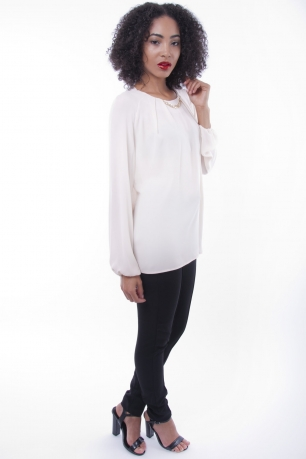 Stylish Long Sleeve Blouse