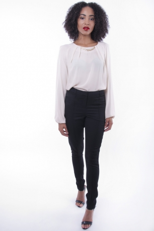 Stylish Tailored Trousers with Pocket Detail