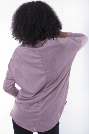 Stylish Front Zip Top