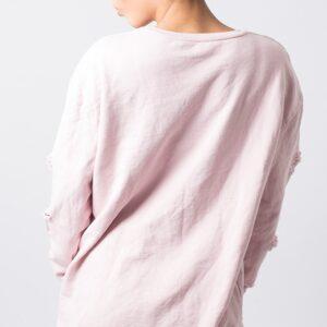 Stylish Distressed Jumper Dress