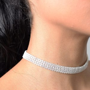 Stylish Diamond Choker Set