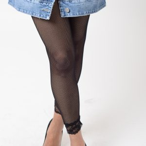 Stylish Fishnet Leggings