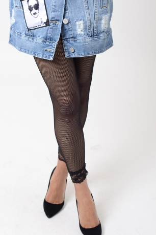 Stylish Fishnet Leggings