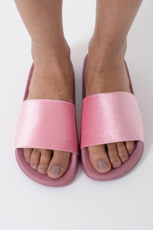 Stylish Suede Sliders