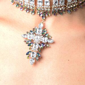 Stylish Premium Crystal Drop Choker