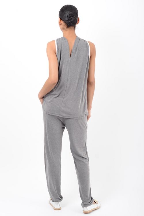 Stylish Grey Loungewear Co Ord Set