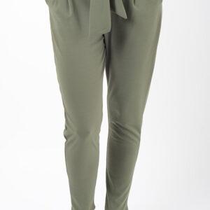 Stylish Khaki Peg Trousers