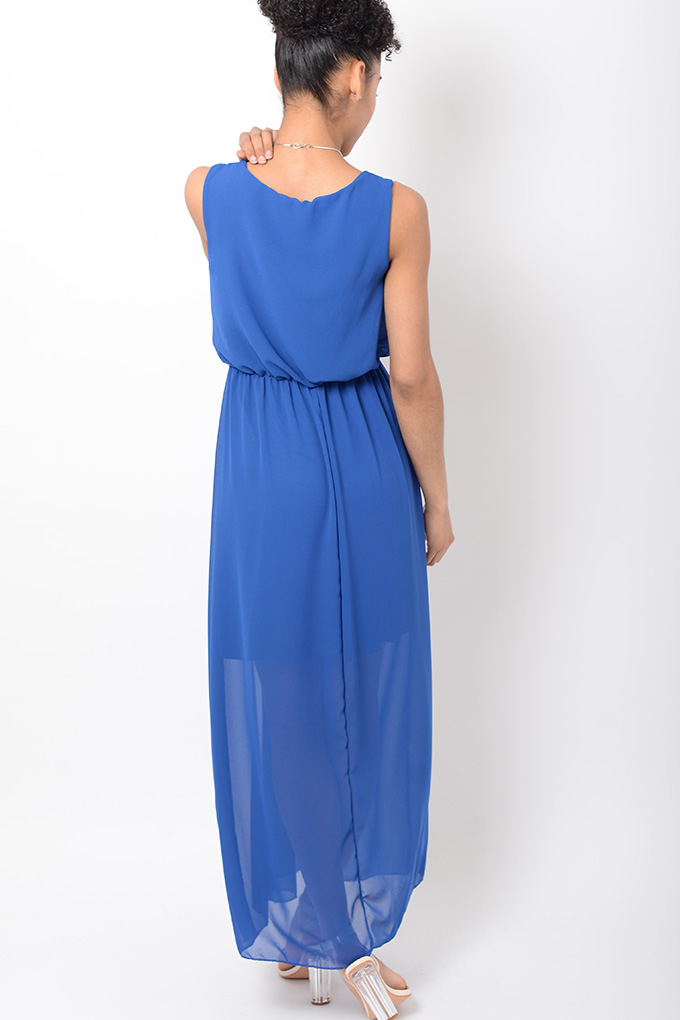 stylish chiffon blue maxi dress stylish dresses maxi dress