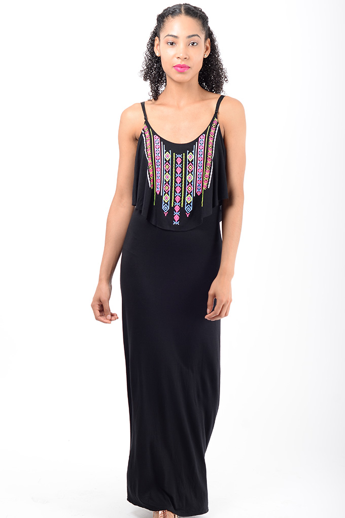 33a85e23bbb Stylish Black Maxi Dress | Stylish Dresses, Bodycon Dresses, Maxi Dress