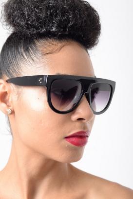 Stylish Black Oversized Sunglasses