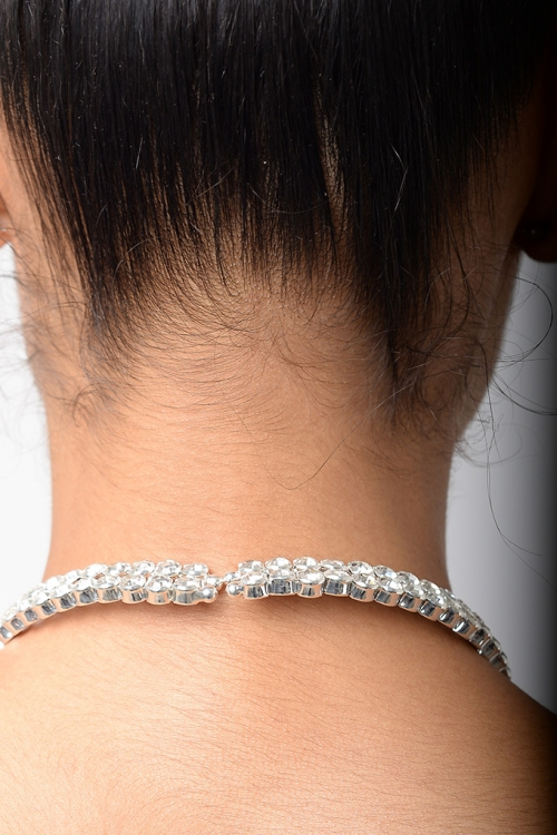 Stylish Circle Diamond Choker
