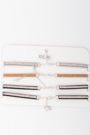 Stylish Diamond Choker Set