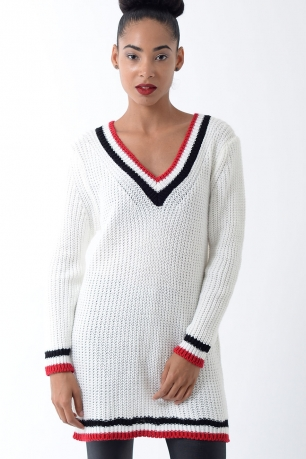 Stylish Knitted Jumper Dress